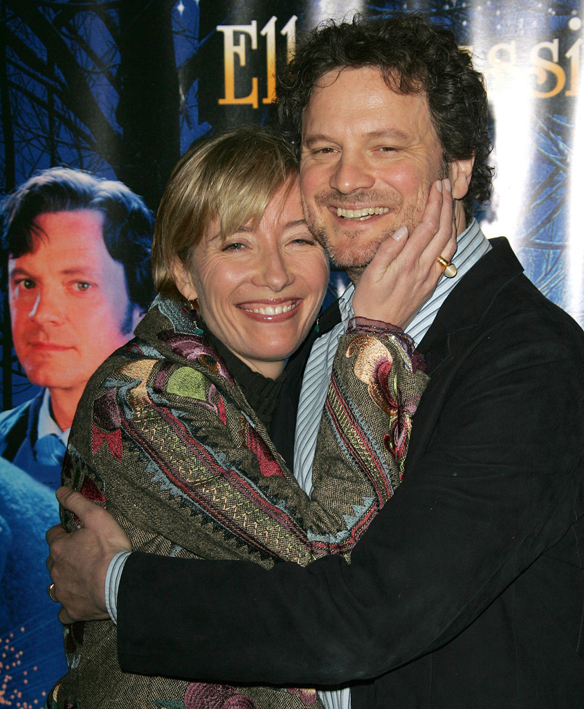 Emma Thompson Colin Firth 2006