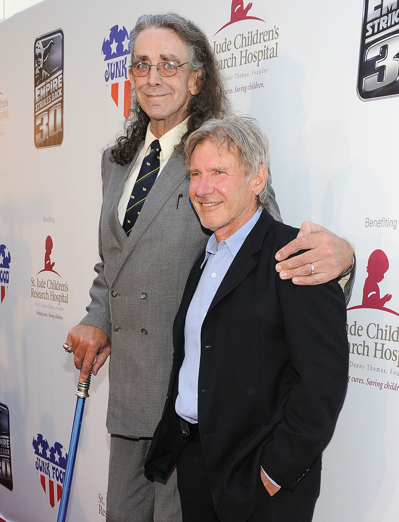 The Empire Strikes Back 30th Anniversary Charity Screening Event 2010 Peter Mayhew Harrison Ford