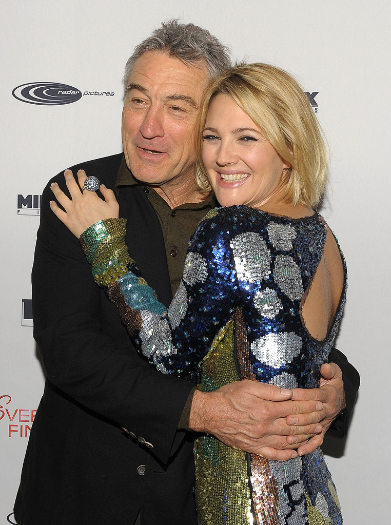 Everybody's Fine NY Premiere 2009 Robert DeNiro Drew Barrymore