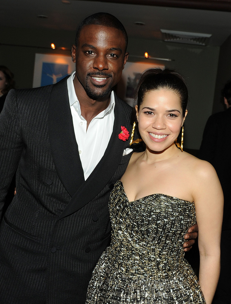 Our Family Wedding NY Premiere 2010 America Ferrera Lance Gross