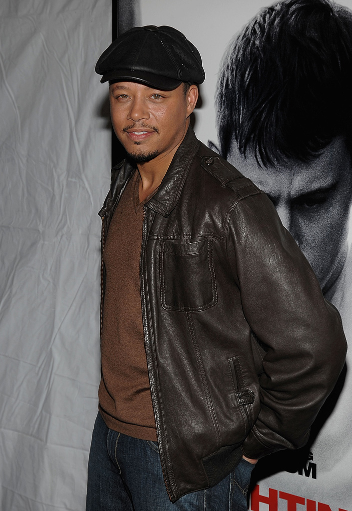 Fighting NY Premiere 2009 Terrence Howard