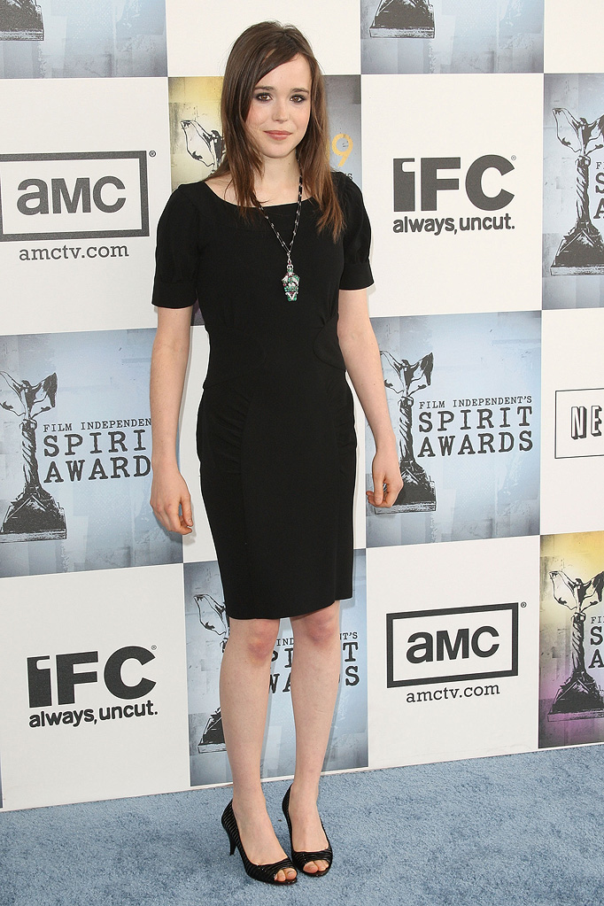 Film Independent's 2009 Independent Spirit Awards Ellen Page