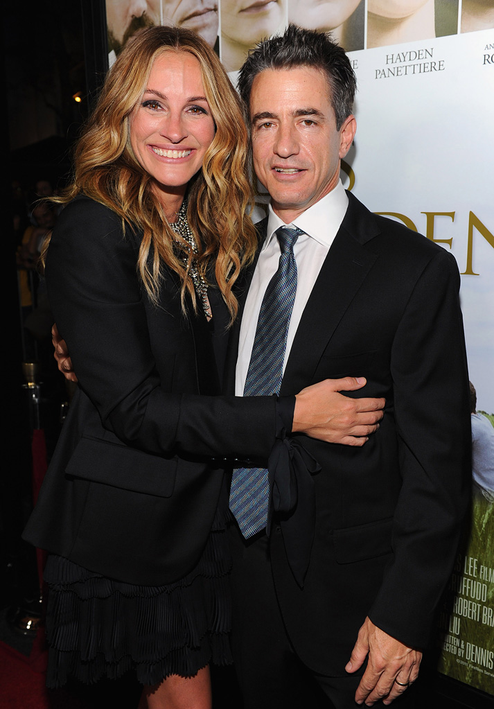 Fireflies in the Garden 2011 LA premiere Julia Roberts Dermot mulroney