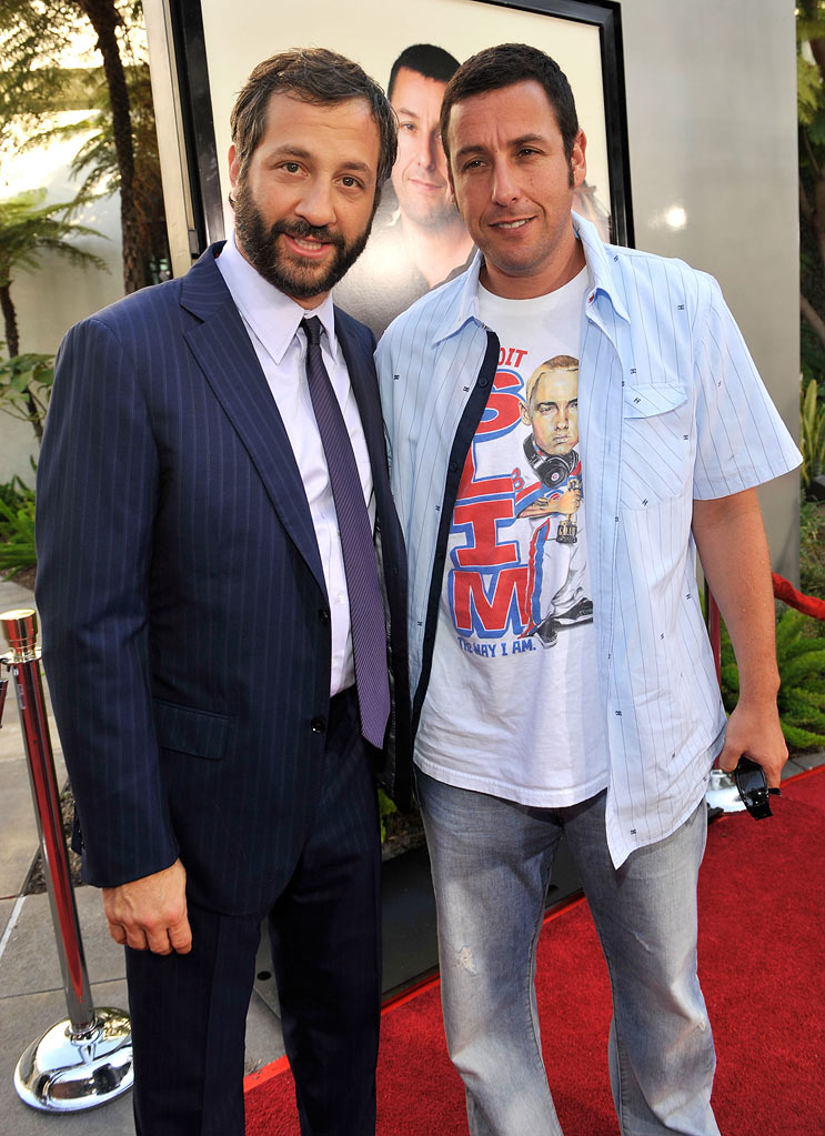 Funny People LA Premiere 2009 Judd Apatow and Adam Sandler