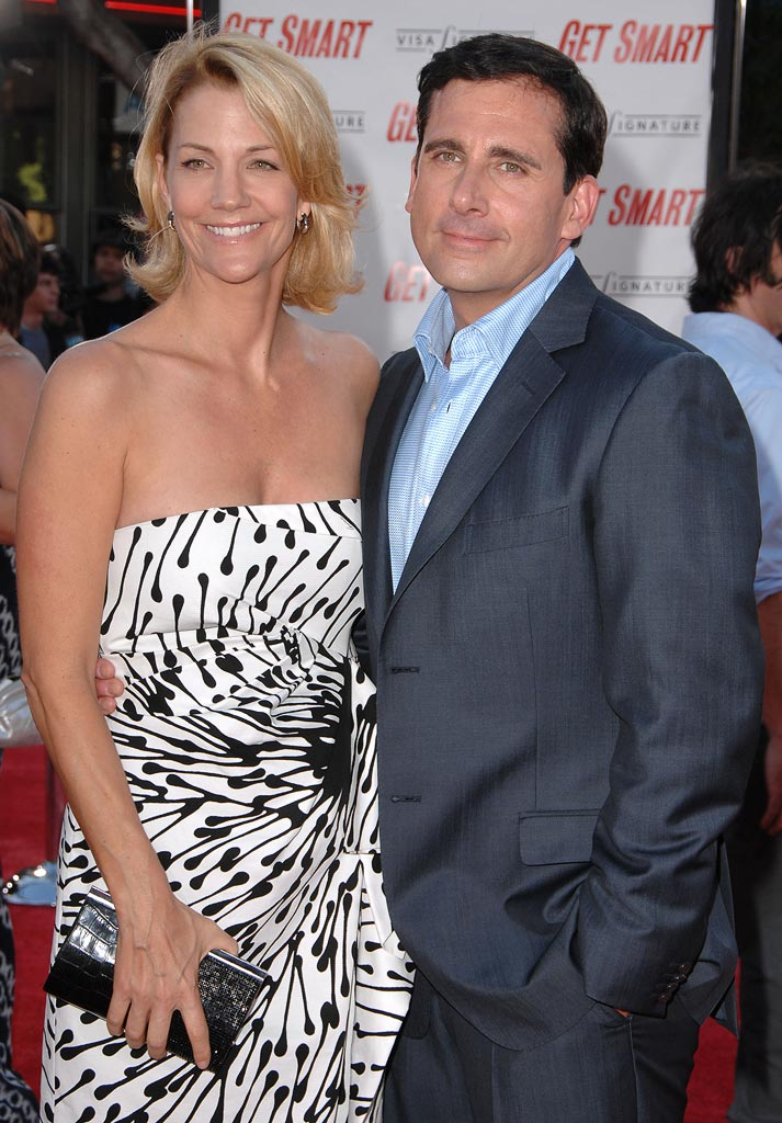Get Smart Premiere 2008 Steve Carell Nancy Walls
