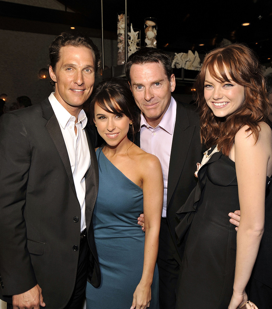 Ghosts of Girlfriends Past LA Premiere 2009 Matthew McConaughey Lacey Chabert Mark Waters Emma Stone