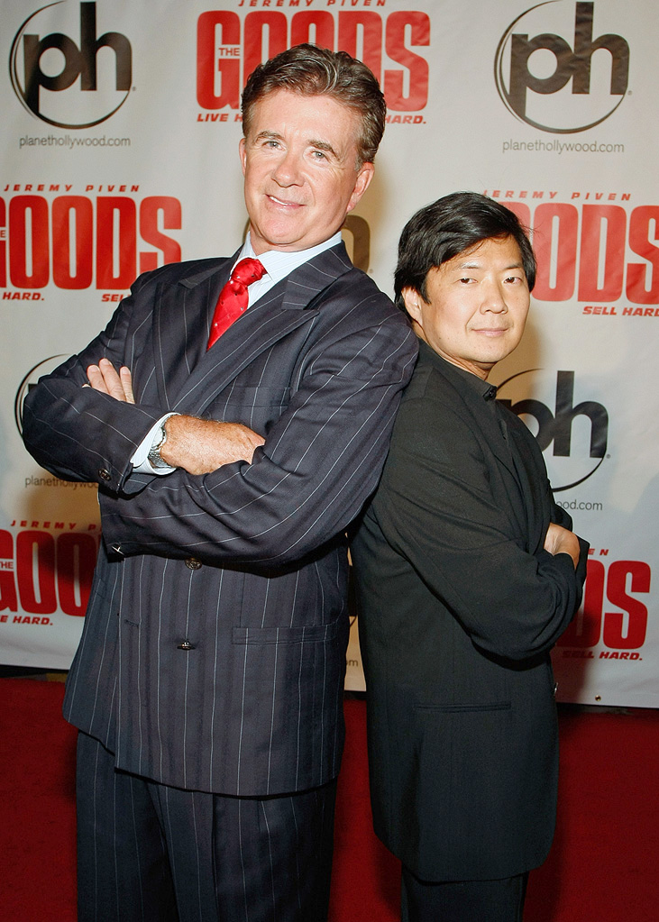 The Goods Live Hard Sell Hard LV Premiere 2009 Alan Thicke Ken Jeong