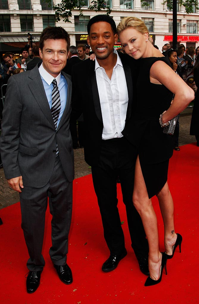 Hancock London Premiere 2008 Jason Bateman Will Smith Charlize Theron