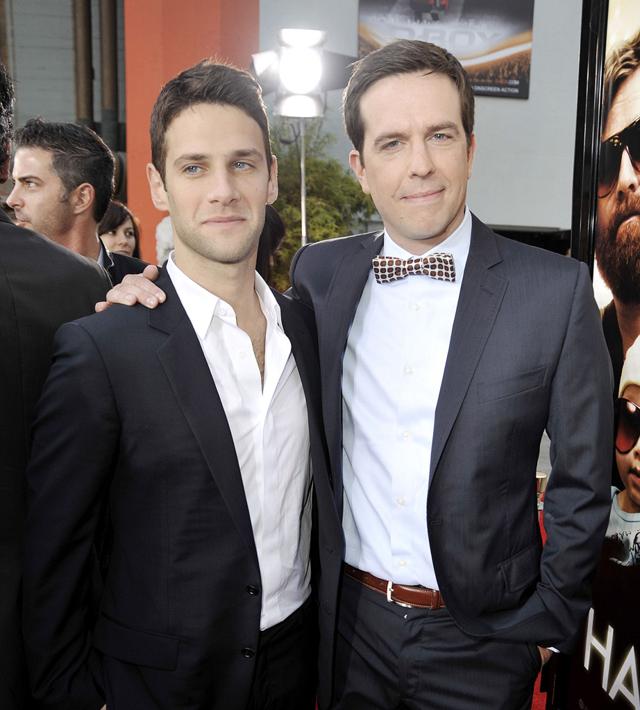 The Hangover LA Premiere 2009 Justin Bartha Ed Helms