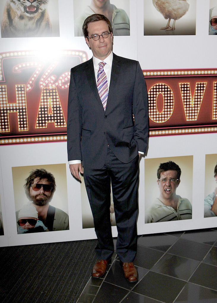 The Hangover UK Premiere 2009 Ed Helms