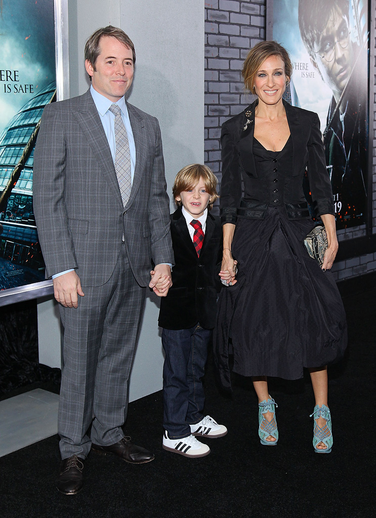 Harry Potter and the Deathly Hallows Pt 1 NYC premiere 2010 Matthew Broderick Sarah Jessica Parker