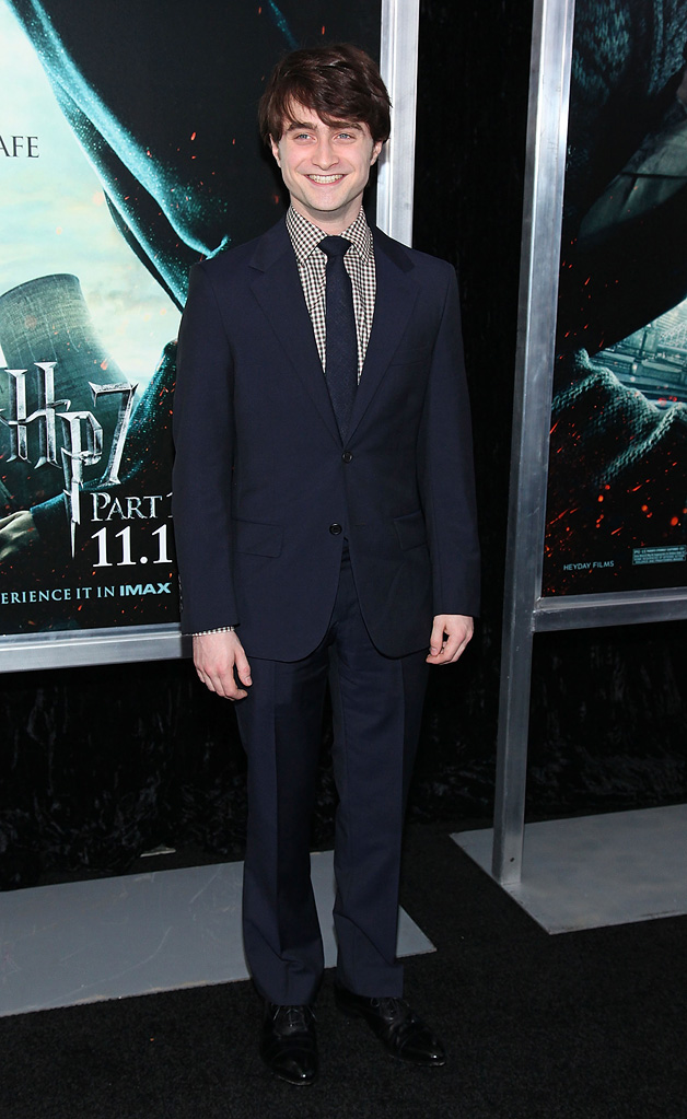 Harry Potter and the Deathly Hallows Pt 1 NYC premiere 2010 Daniel Radcliffe
