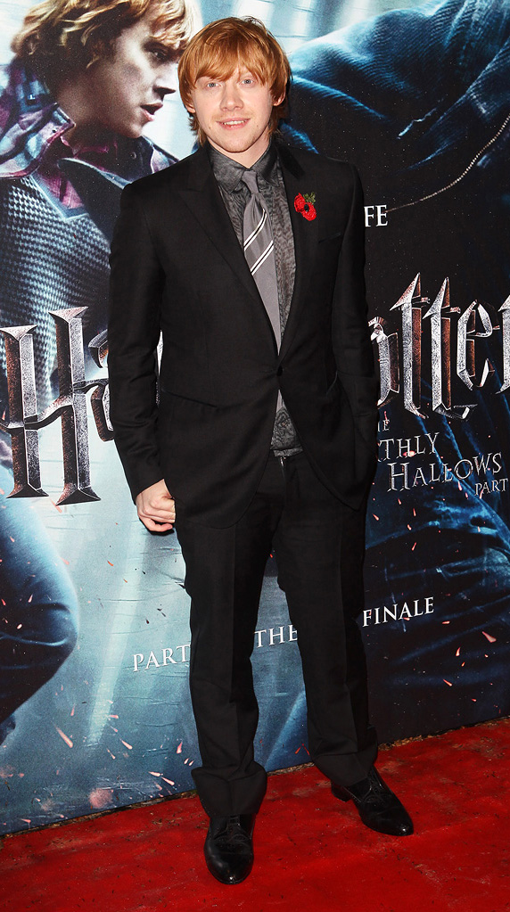 Harry Potter and the Deathly Hallows pt 1 UK premiere 2010 Rupert Grint