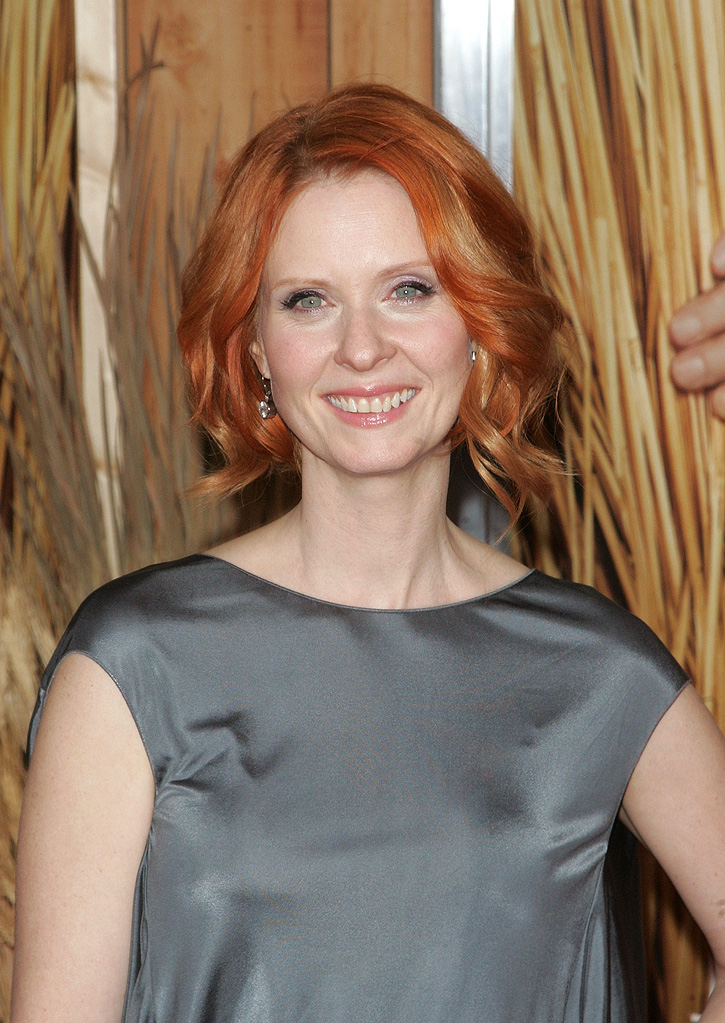 Did You Hear About the Morgans NY Premiere 2009 Cynthia Nixon