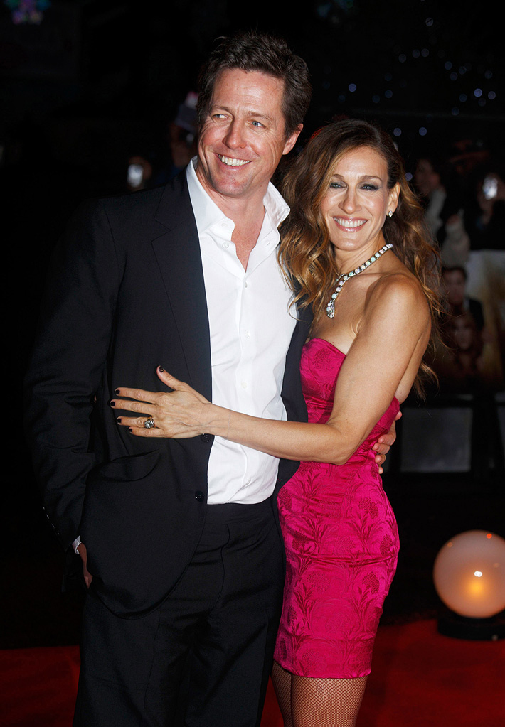 Did You Hear About the Morgans UK Premiere 2009 Sarah Jessica Parker Hugh Grant