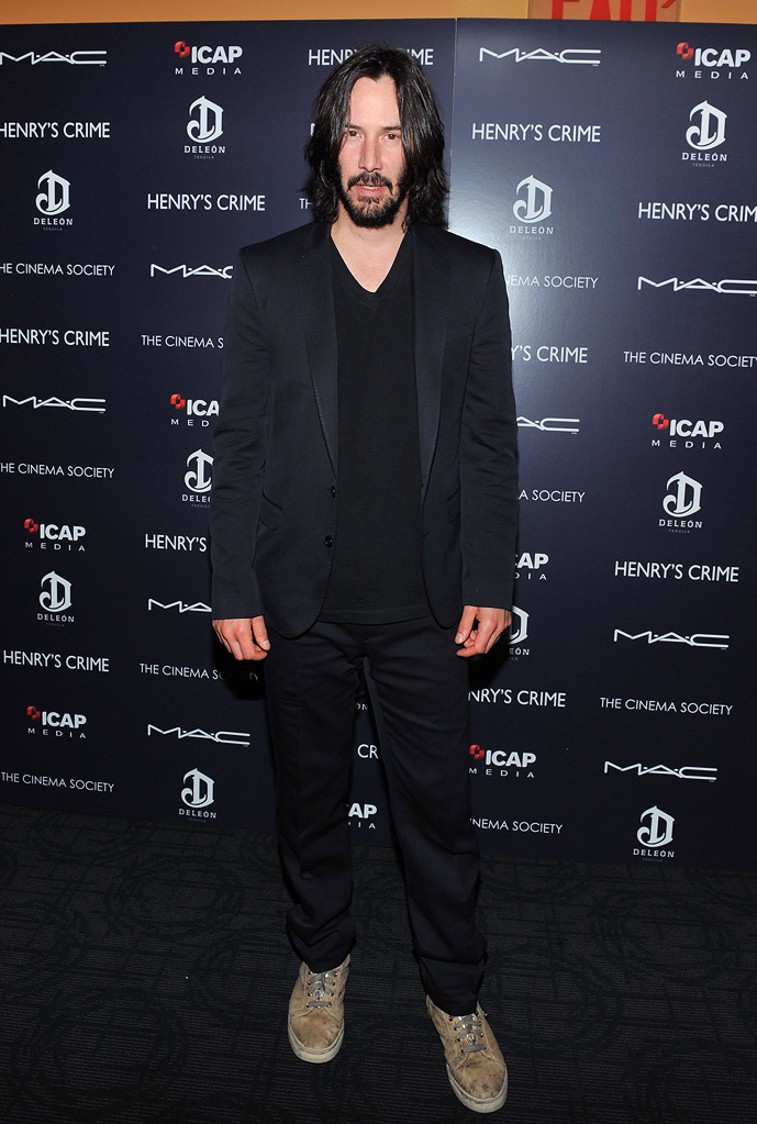Henry's Crime 2011 NYC Screening Keanu Reeves