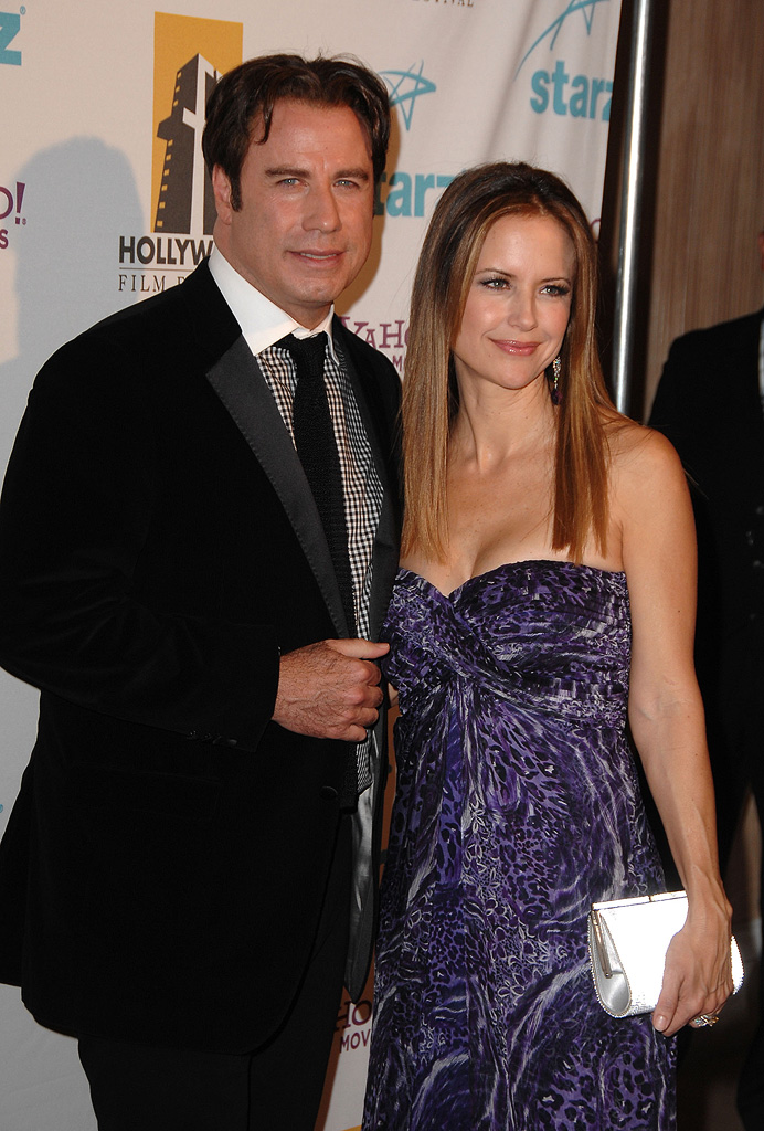 Hollywood Film Festival Awards 2007 John Travolta Kelly Preston