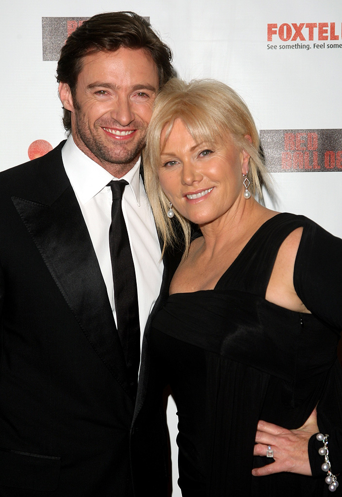 Hugh Jackman Deborah Lee Furness 2008