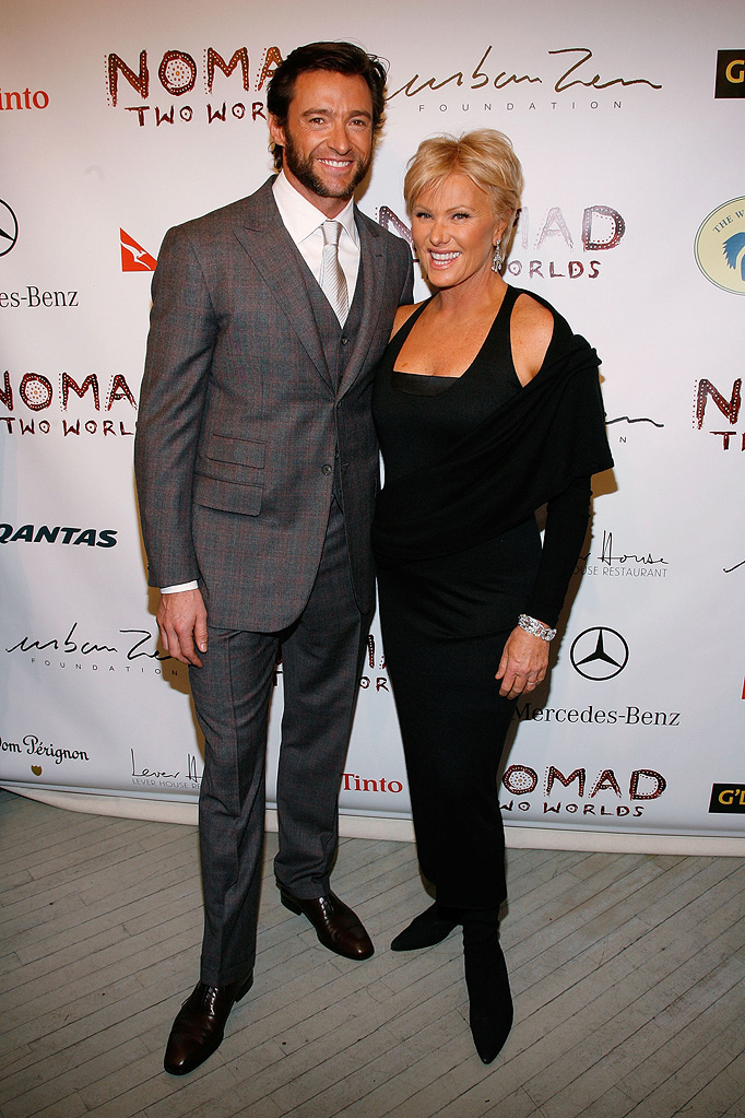 Hugh Jackman Deborra Lee Furness 2009 Nomad Two Worlds Preview