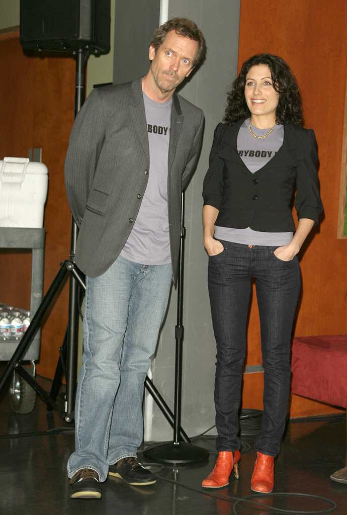 Hugh Laurie Lisa Edelstein 2007