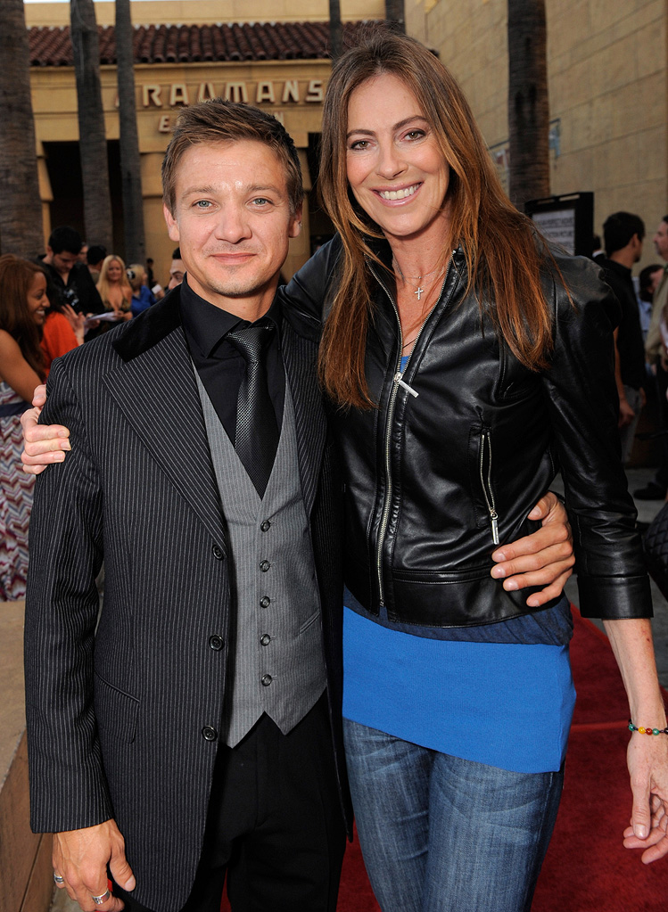The Hurt Locker LA Premiere 2009 Jeremy Renner Kathryn Bigelow