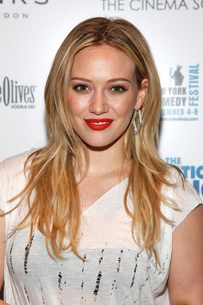 The Invention of Lying NY Screening 2009 Hilary Duff