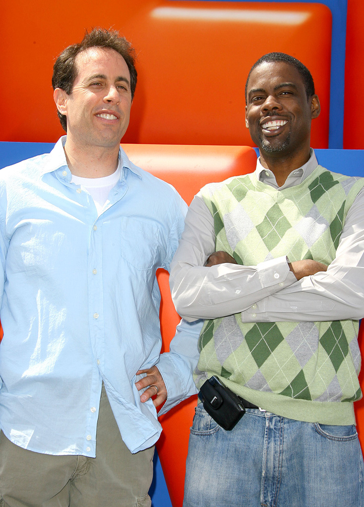 Jerry Seinfeld Chris Rock 2007