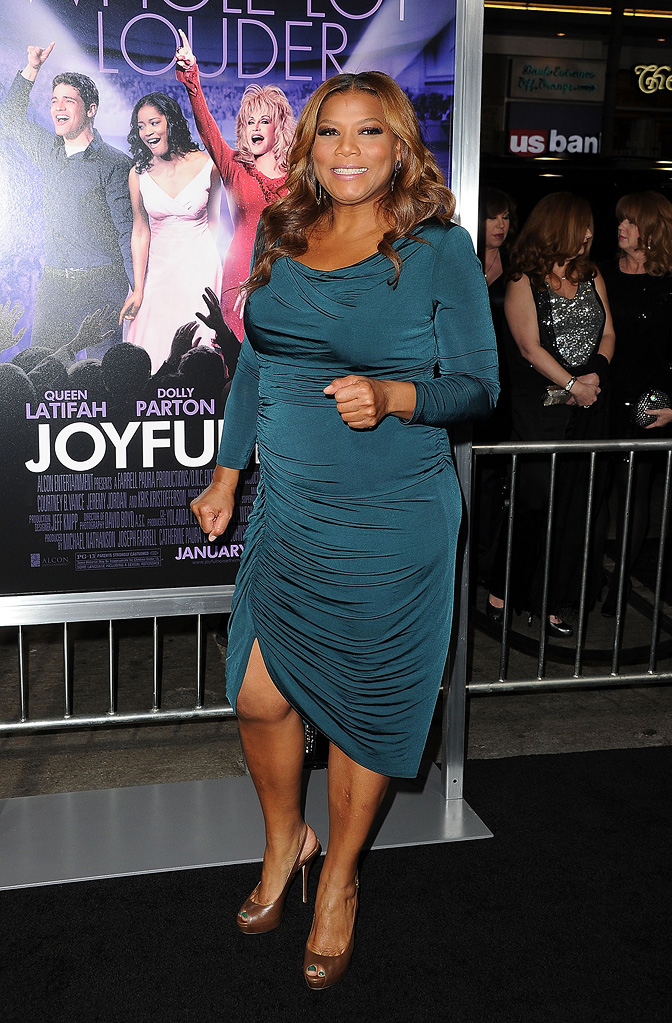 Joyful Noise 2012 LA Premiere Queen Latifah