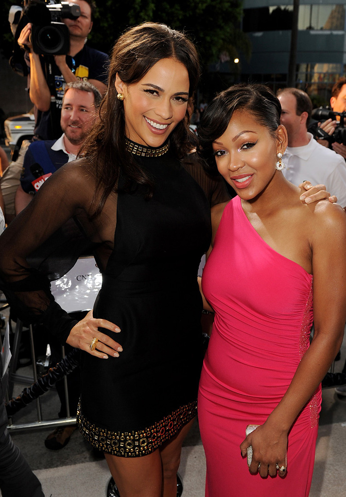 Jumping the Broom LA Premiere 2011 Paula Patton Meagan Good