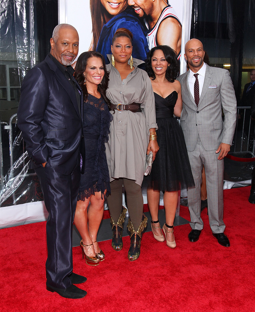 Just Wright NY Premiere 2010 James Pickens Jr. Sanaa Hamri Queen Latifah Common