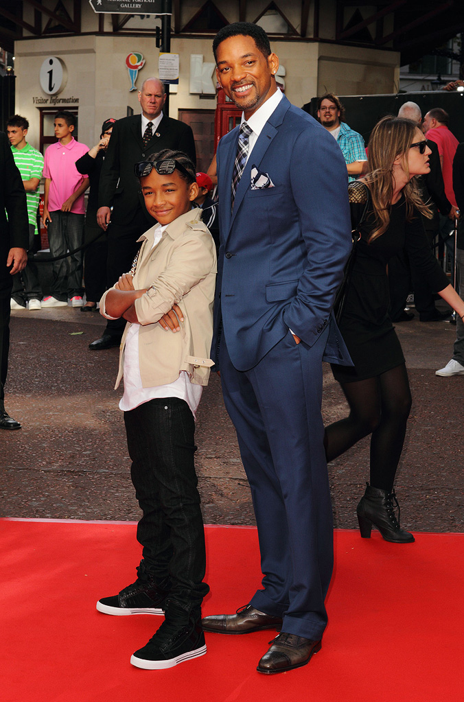 The Karate Kid UK Premiere 2010 Jaden Smith Will Smith