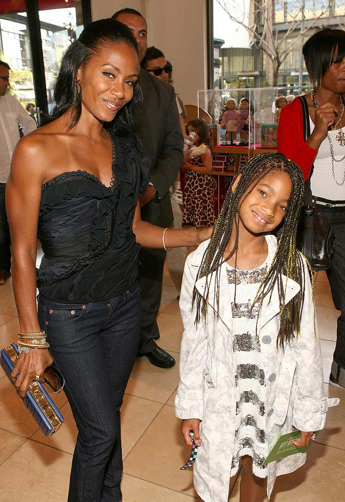 Kit Kittredge: An American Girl Premiere 2008 Jada Pinkett Smith Willow Smith
