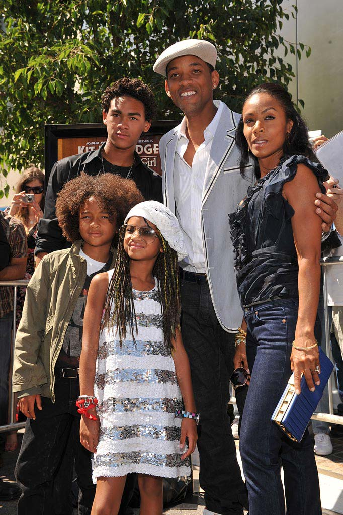 Kit Kittredge: An American Girl Premiere 2008 Will Smith Jada Pinkett Smith Jaden Smith Willow Smith