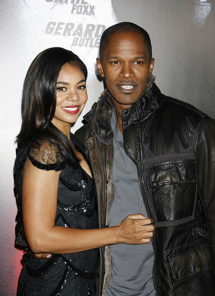 Law Abiding Citizen LA Premiere 2009 Regina Hall Jamie Foxx