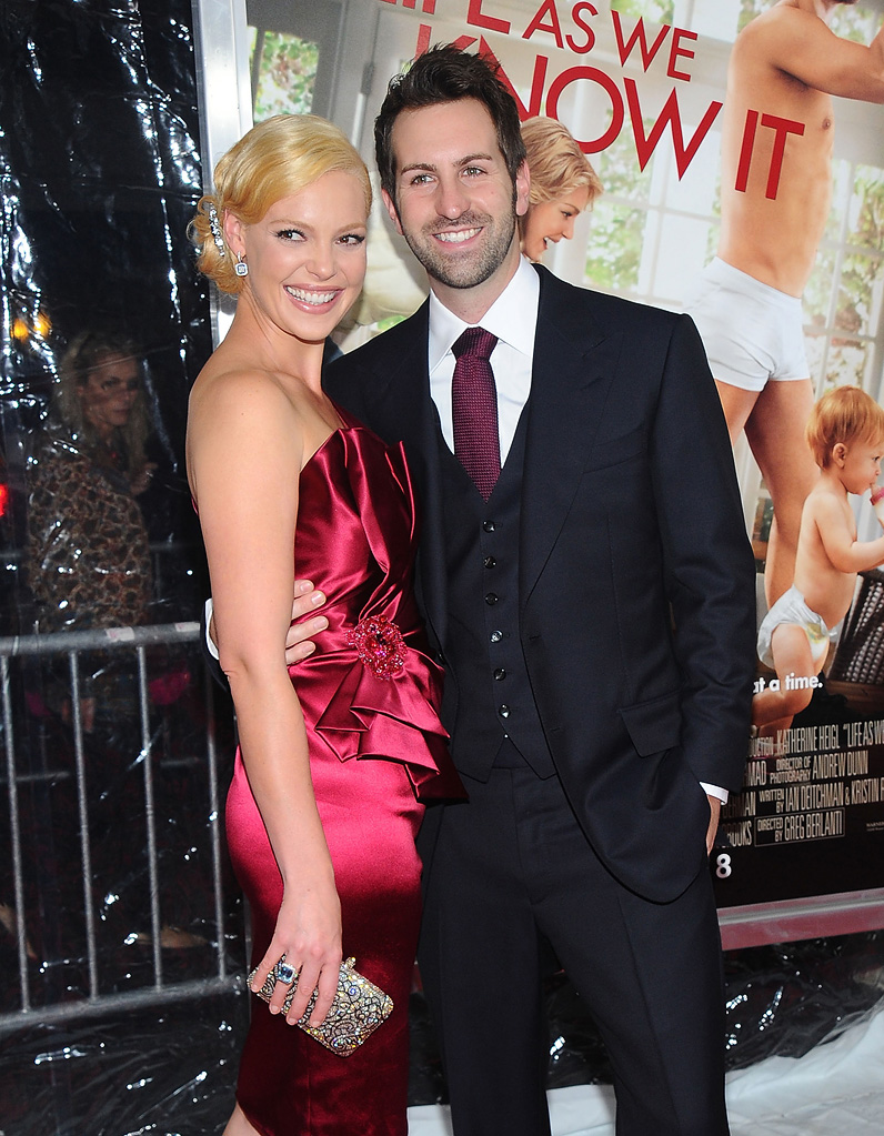 Life as We Know It NYC Premiere Josh Kelley Katherine Heigl