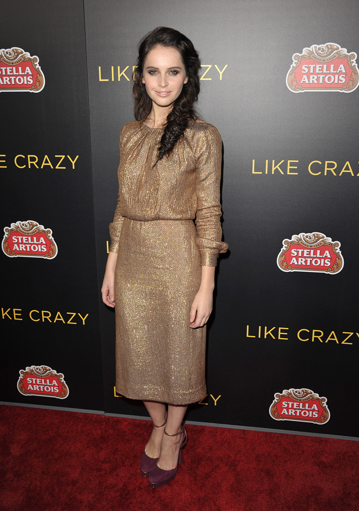 Like Crazy LA premiere 2011 Felicity Jones