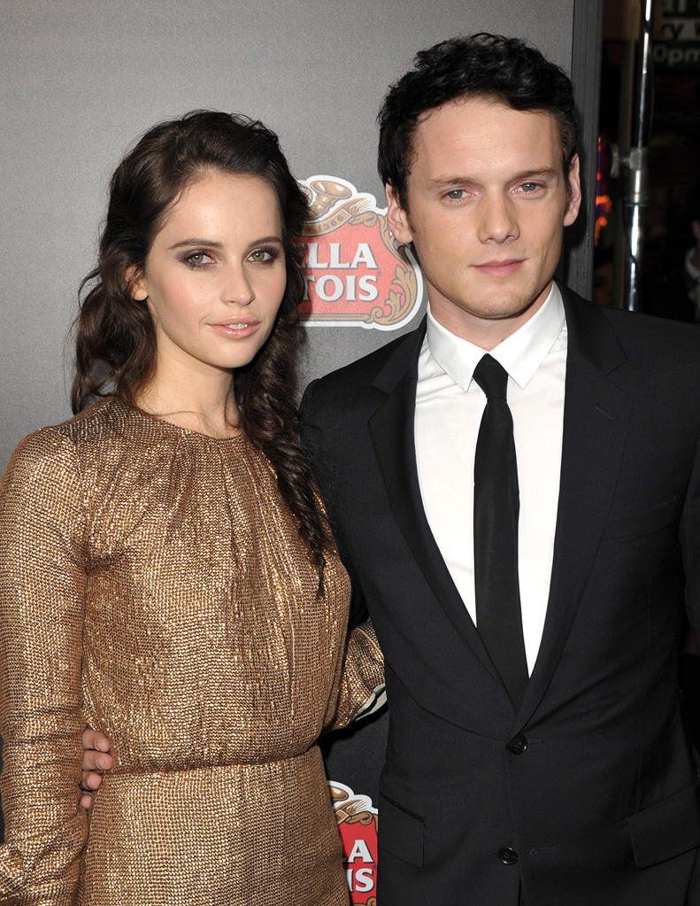 Like Crazy LA premiere 2011 Felicity Jones Anton Yelchin