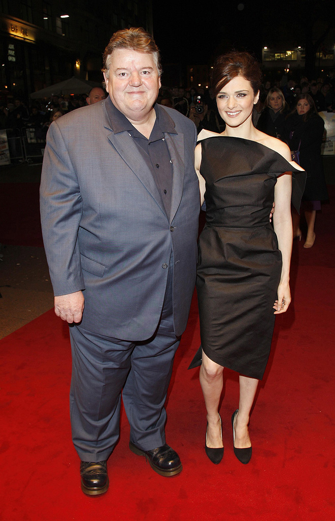 London Film Festival 2008 The Brothers Bloom Premiere Robbie Coltrane Rachel Weisz