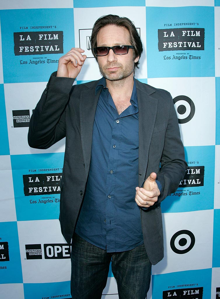 Los Angeles Film Festival 2008 David Duchovny