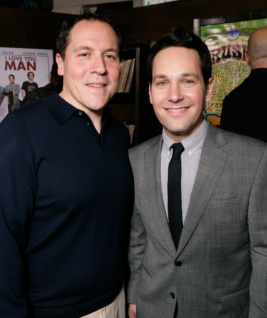 I Love You Man LA premiere 2009 Jon Favreau Paul Rudd