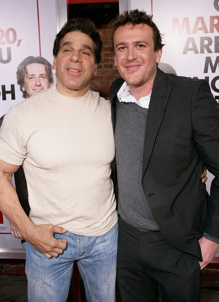 I Love You Man LA premiere 2009 Lou Ferrigno Jason Segel