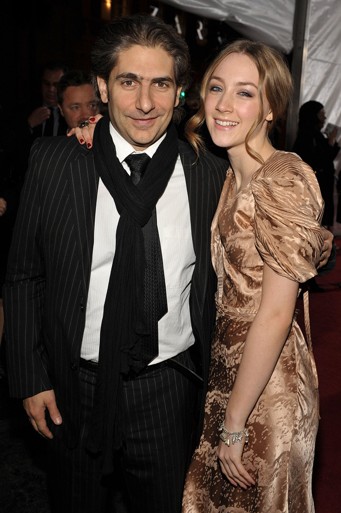 The Lovely Bones LA Premiere 2009 Michael Imperioli Saoirse Ronan