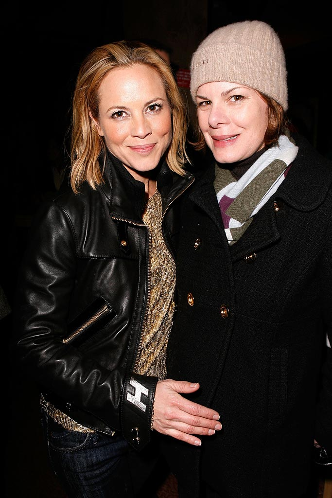 Maria Bello Marcia Gay Harden 2008