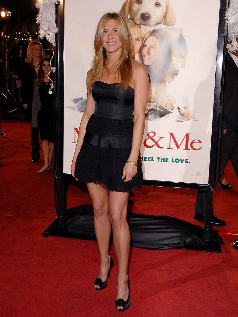 Marley and Me LA Premiere 2008 Jennifer Aniston