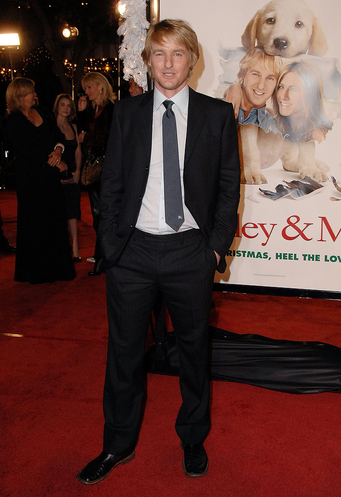 Marley and Me Premiere 2008 Owen Wilson
