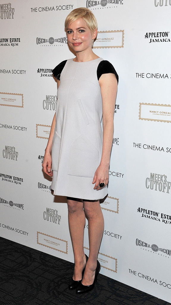 Meek's Cutoff NY Screening 2011 Michelle Williams