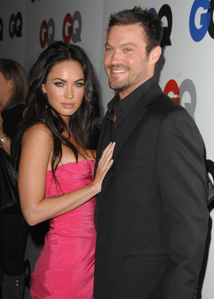 Megan Fox Brian Austin Green 2008
