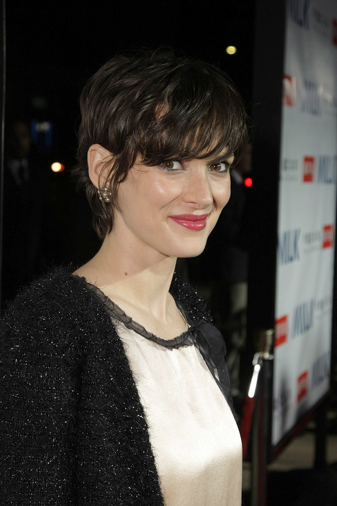 Milk Los Angeles premiere 2008 Winona Ryder