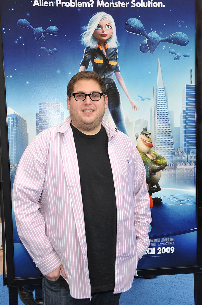 Jonah Hill  Monsters Vs Aliens La Premiere  Jonah Hill