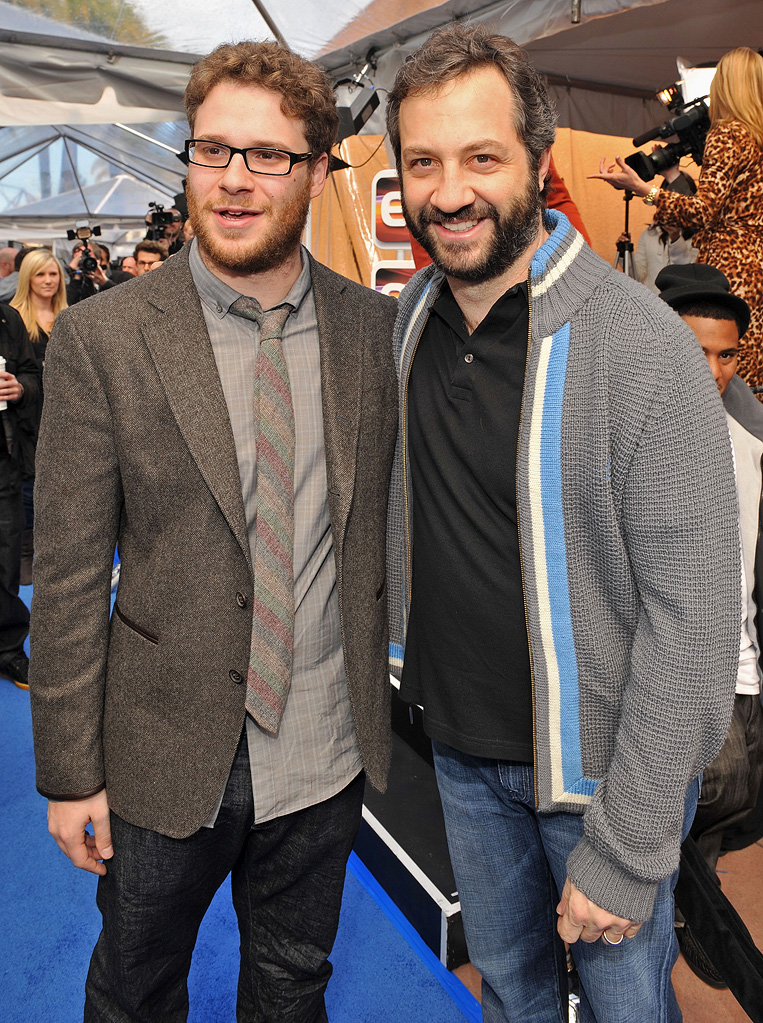 Monsters vs Aliens LA Premiere 2009 Seth Rogen Judd Apatow